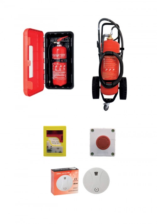 fire extinguishers components