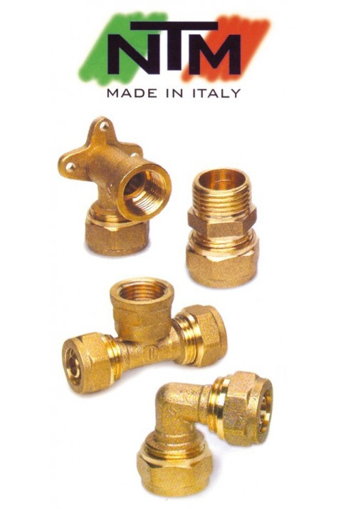 BRASS FITTINGS FOR PEX PIPE NTM