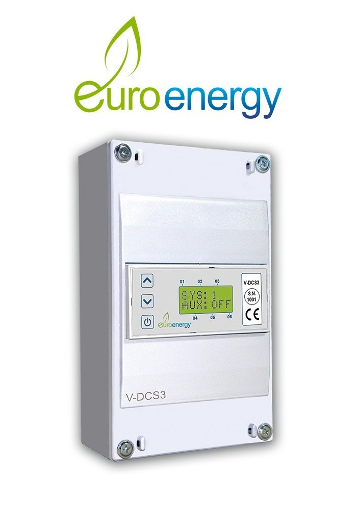 Solar Differential Thermostats - V-dc