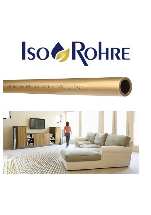 UNDERFLOOR PIPE WITH OXYGEN PROTECTION - ISO ROHRE