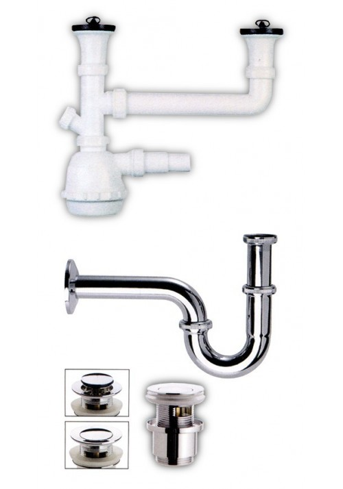 SIPHONS - BATHROOM ITEMS