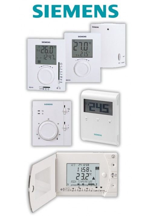 ROOM'S THERMOSTAT SIEMENS