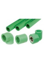 PP-R RANDOM PIPES & FITTINGS INTERPLAST