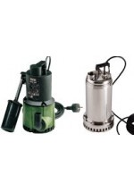 SUBMERSIBLE PUMPS FOR DRAINAGE AND WASTE WATER