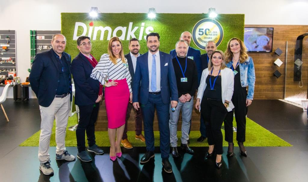 DIMAKIS ' PARTICIPATION IN CLIMATHERM EXHIBITION IN ATHENS